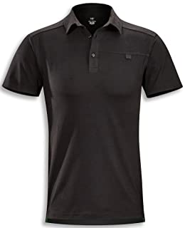 Arcteryx Captive Polo SS Shirt - Men's Black Large (B004LFDX72) | Amazon price tracker / tracking, Amazon price history charts, Amazon price watches, Amazon price drop alerts