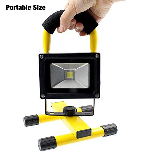 Portable Rechargeable Cordless LED Work Light Flood Light