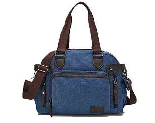 FBUFBD180854 sacs Toile Mode AllhqFashion Des bandoulière Zippers à Sacs Décontractée Femme Bleu nqv1xFwfg4