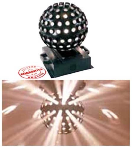 MBT Lighting ME4710 Spinning Star White Effect Light by MBT Lighting