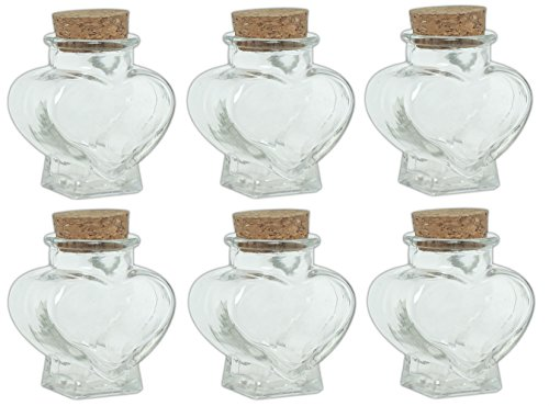 Small Heart Shaped Bottle - 1