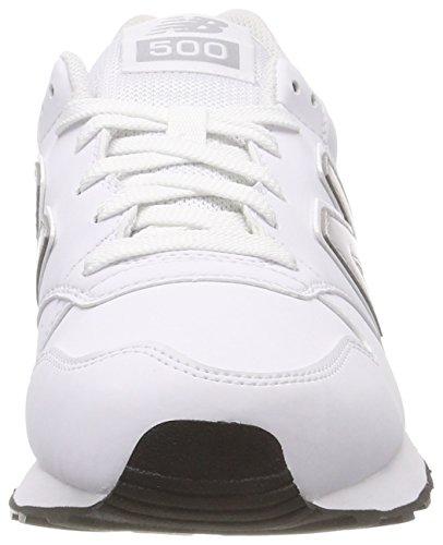 Homme White White Wwg Blanc Gm500v1 New Balance Cloud Rain Baskets wqUttT