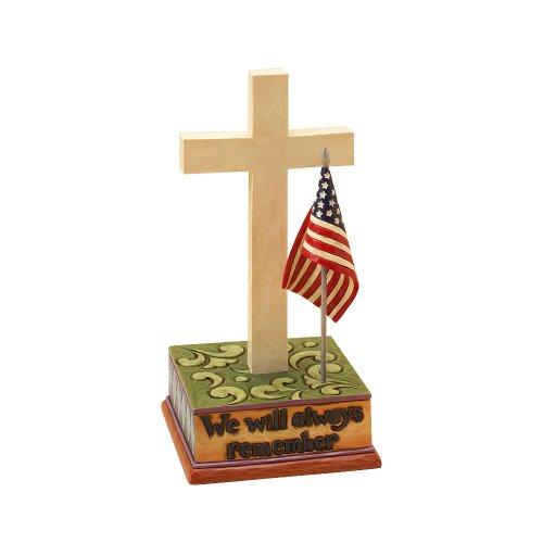 Enesco Jim Shore Heartwood Creek Tribute Cross, 6-Inch