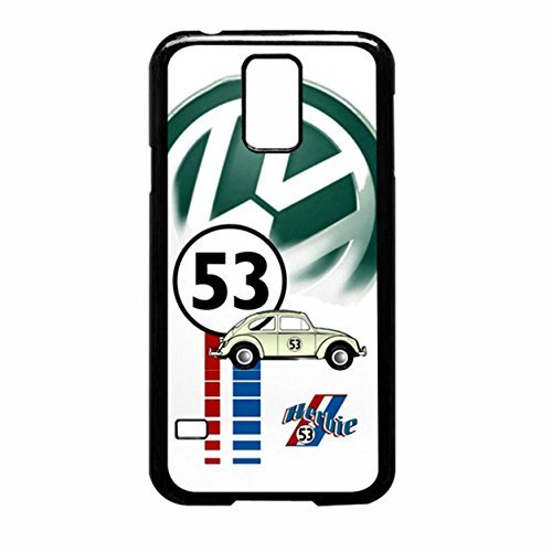 Herbie 53 Vw Bug Beetle Samsung Galaxy S5 (Black Rubber)