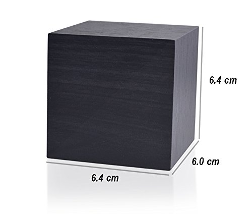 Beautys 101 Wooden Digital Alarm Clock- Premium Multifunction Electronic LED Digital Alarm Clock For Bedroom, Kids' Room & Travel- Modern, Stylish & Reliable Alarm Clock (Blue Light - Black Wood) by Beautys 101 (Image #5)