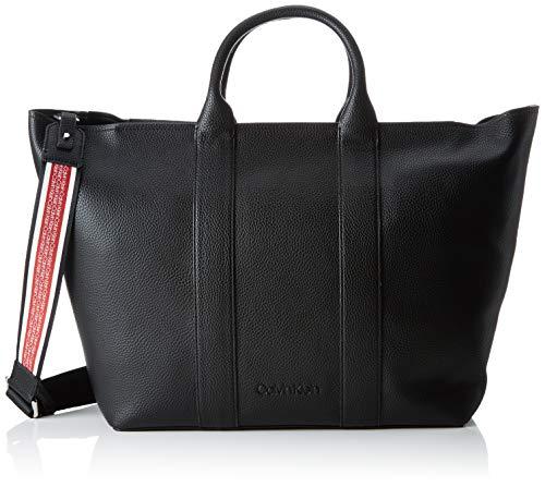 Klein Ew black Race Shopper Cabas Calvin Noir OwCpqqS