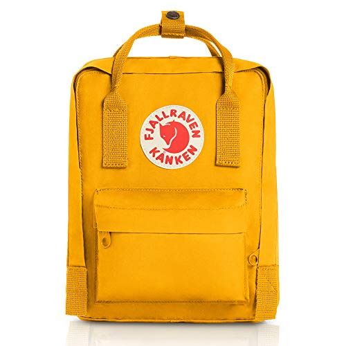 Fjallraven Kanken Mini Daypack, Warm Yellow