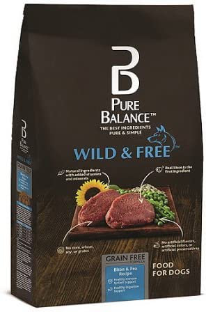 Pure Balance Wild & Free Bison & Pea Recipe Food for Dogs 11lbs