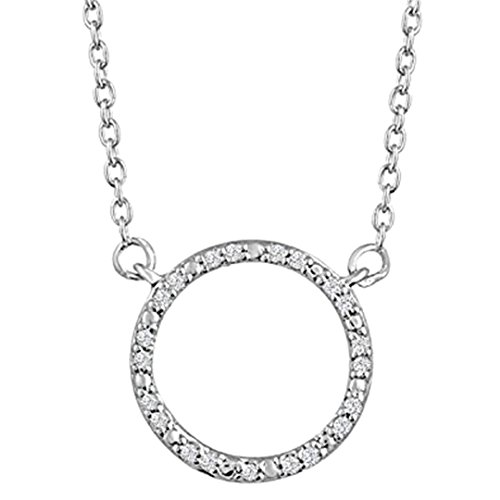 Diamond Accent Circle Bracelet - 2