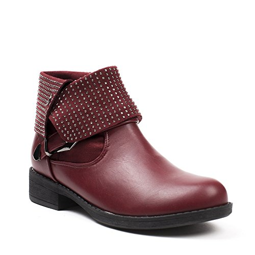 Bottines Shoes Ideal Shoes Bottines bi Mati Ideal bi Mati HU7qapw