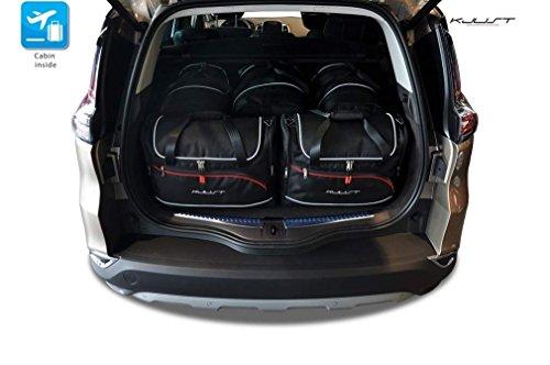 KJUST - AUTO TASCHEN AUF MASS RENAULT ESPACE INITIALE V, 2014- CAR FIT BAGS