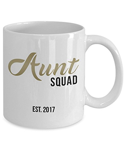 9b24c1e3e5 Aunt Squad Mug - Aunt to be gift - Aunt Gift - Gift for Aunt ...