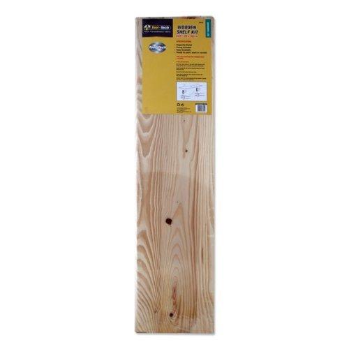 Tool Tech 90cm Pine Wood Shelf Kit by Tool (Pine Shelf Kit)