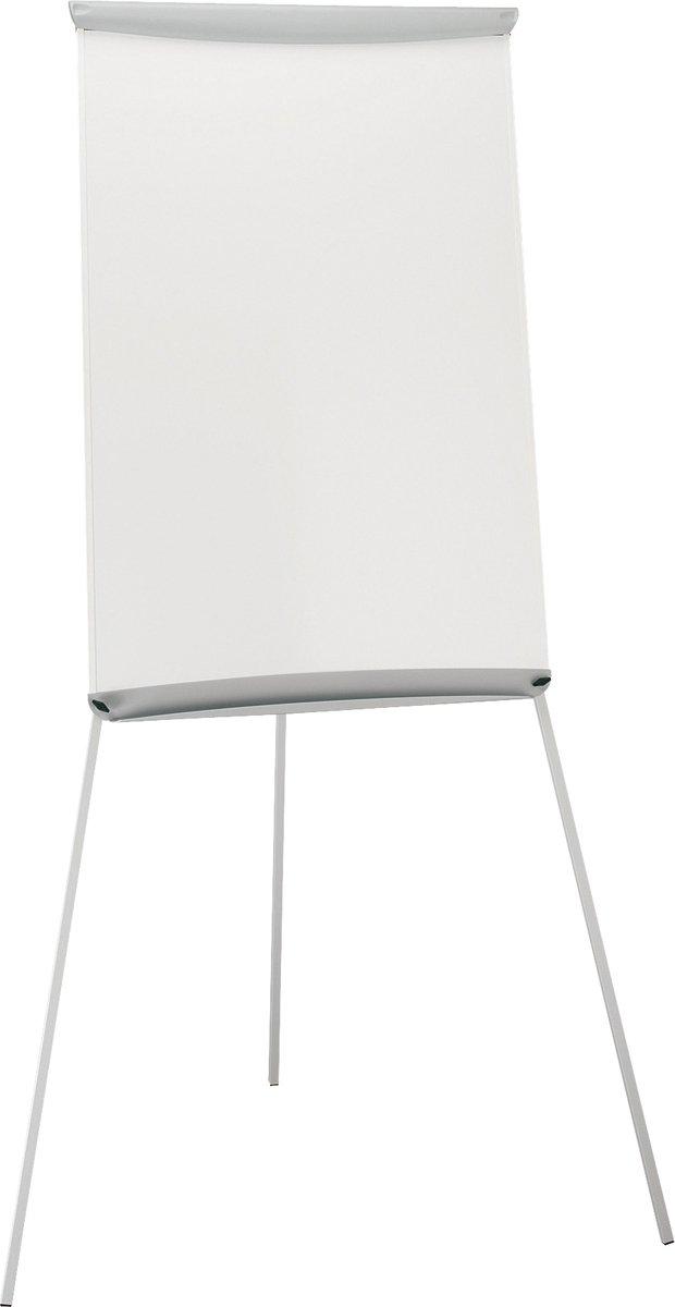 5 Star Flipchart Easel with W670xH990mm Board W700xD82xH1900mm Grey Trim