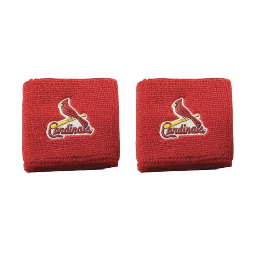 fan products of Franklin Sports MLB St. Louis Cardinals Team Wristbands