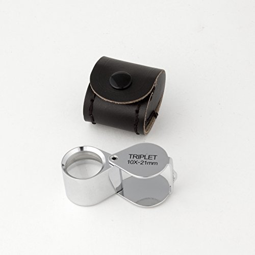 JPLC2-10X 10X PRINTERS POCKET LOUPE. MADE IN USA.