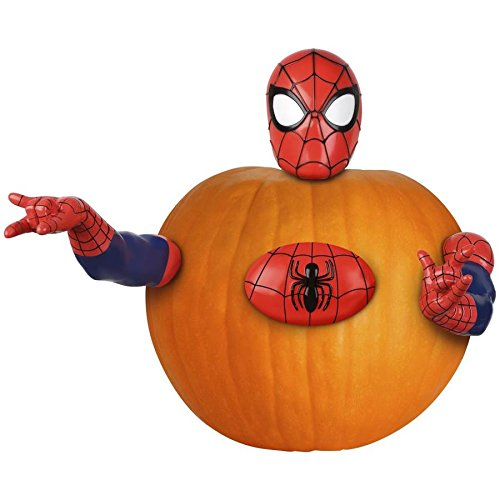 Spider-Man Pumpkin Push in Decorating Kit -