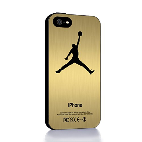Nike Air Jordan Logo for Iphone 4 4s 5 5c 6 6plus Case (iphone 4/4s black)