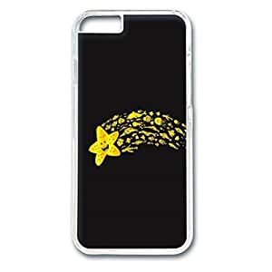 Custom Case with Funny Personalized Back Snap On Case for iPhone 6 4.7 PC Transparent