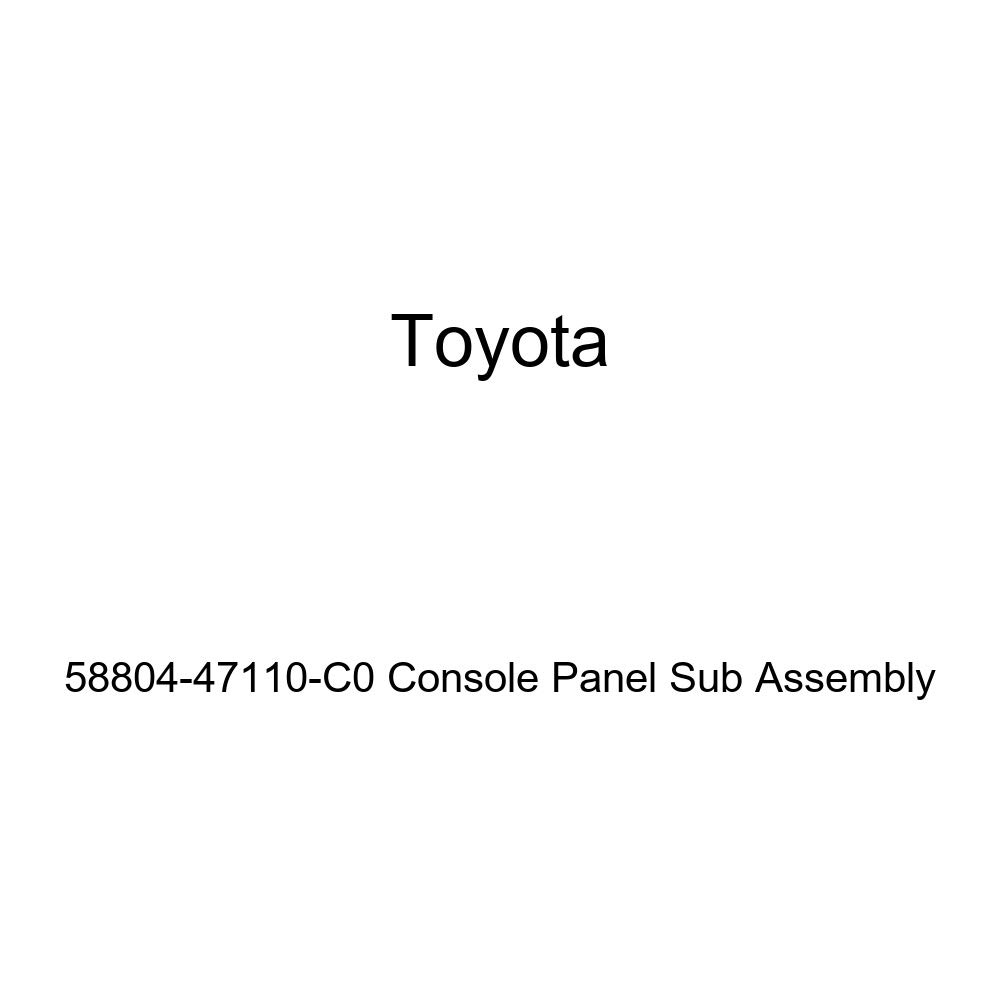 TOYOTA Genuine 58804-47110-C0 Console Panel Sub Assembly