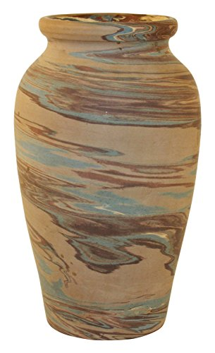 Niloak Pottery Mission Swirl Dark Marbleized Vase