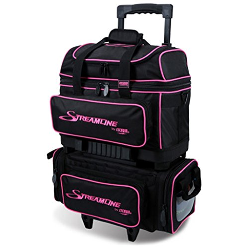 Storm Streamline 4 Ball Roller Bowling Bag Black/Pink by Storm