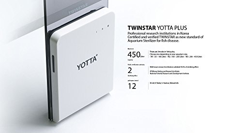 TWINSTAR Yotta Plus for 119gal Aquarium Sterilizer Prevent Fish Disease by Twin Star