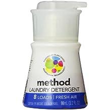 Method Laundry Detergent, Fresh Air, 8 Loads. 96 ml (3.2 Fl Oz).