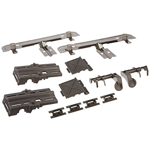 Metal Number Part (W10712394 Dishwasher Rack Adjuster Kit for Whirlpool & Kenmore Dishwashers by PartsBroz - Replaces Part Numbers W10712394, AP5956100, W10350376, PS10064063, W10238418, W10253546, W10712394VP)