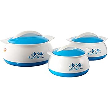 Amazon Com Pinnacle 3 Piece Thermo Dish Hot Or Cold