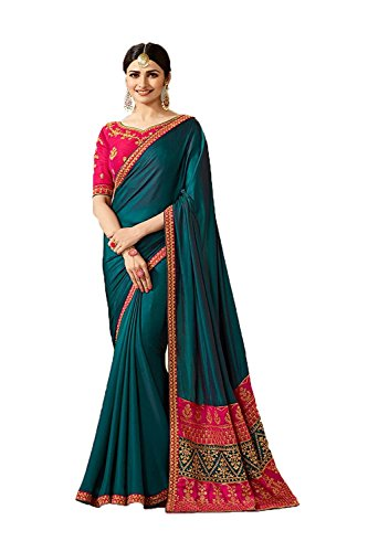 The Stylam Indian Sarees For Women Partywear Ethnic Traditional Multicolor Sari