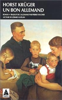 Un bon Allemand par Krüger