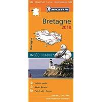 Carte Bretagne Michelin 2018