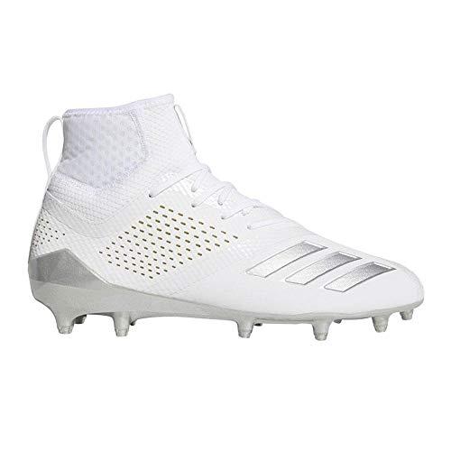 timeless design 8f161 dc11b adidas Adizero 5-Star 7.0 Mid LAX Cleat - White Silver - 11