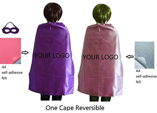 Diy Superhero For Kids Costumes (Ranavy Diy Superhero Capes For Kids Birthday Party Superhero Costumes Unisex 27