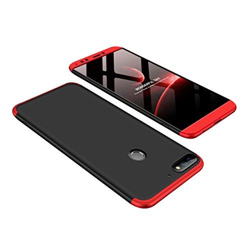 9 Ultra 1 Compatible Lite Étui Cas Mince rayures Housse Noir 9 Hybride Mat Pc Avec 3 Anti Rouge Dur Protector En Shell Huawei Honor Y7gmIybf6v