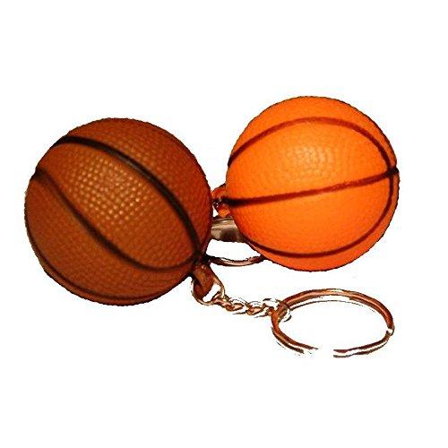 Lot de 2 puerta CLE balón de basket-modèle aléatoire-sport llave ...