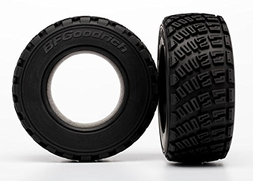 Traxxas 7471 Tires BFGoodrich Rally gravel pattern (2)/ foam inserts (2)