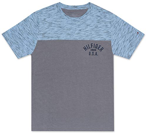 Tommy Hilfiger Little Boy's Colorblock logo tee shirt