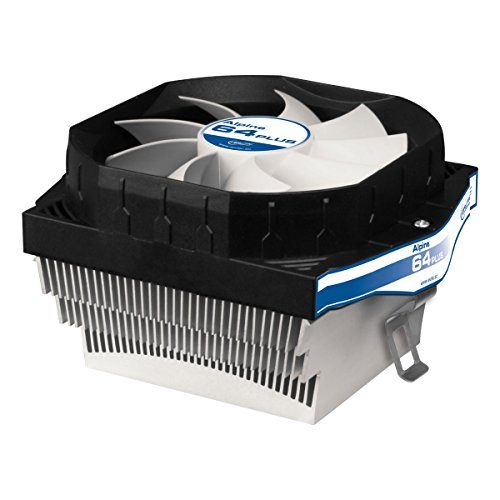 ARCTIC Alpine 64 - Noise CPU Cooler for AMD AM4 Sockets Patented Fan Holder - Patented Anti-Vibration