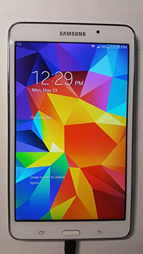 Samsung Galaxy Tab 4 7.0 T237P 16GB Sprint 4G LTE Android Tablet PC - White