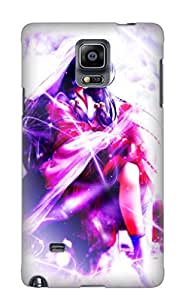Premium Protection Anime Air Case Cover With Design For Galaxy Note 4- Retail Packaging