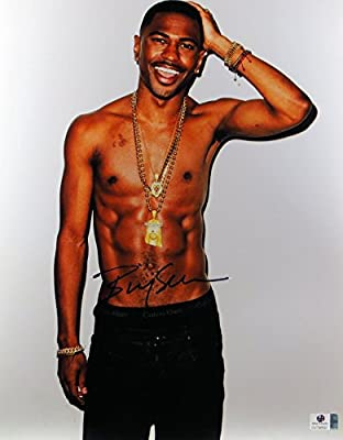 Big Sean Signed Autographed 11X14 Photo Sexy No Shirt Abs GV796597