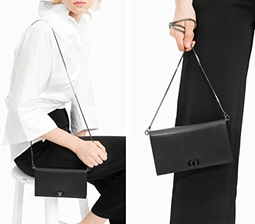 Harbour Donna Packet Student Black Chain Wind Wild Messenger Wallet 2017 New Bag Injoylife Retro gIpqwdxI