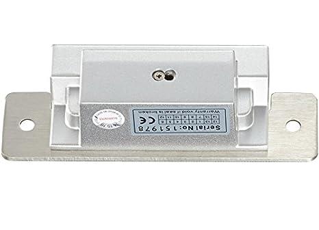 Amazon.com : Bio huella dactilar y contraseña y RFID Security Kit de control de acceso y bloqueo de la puerta Strike + 110-240V fuente de alimentación ...