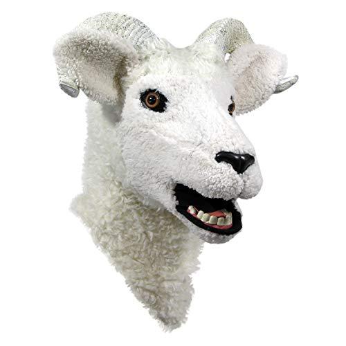 Forum Novelties Unisex-Adult's Moving Jaw Masks-Lamb, Multi, Standard -