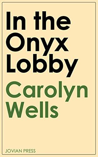 In the Onyx Lobby