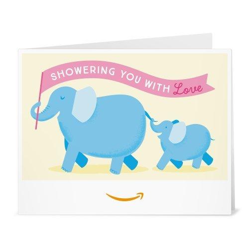 Amazon Gift Card - Print - Baby Elephants