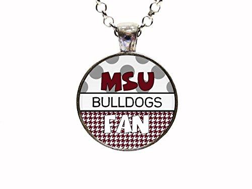 Mississippi State University Bulldogs Pendant Necklace