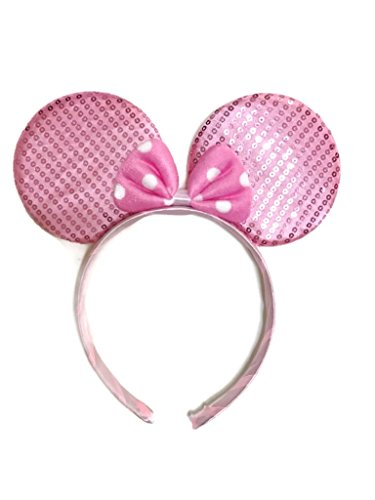 MeeTHan Mickey Mouse Minnie Mouse Ears Headband Sparking : M1 (Genius Ergonomic Mouse)